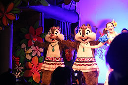 Mickey's Rainbow Luau