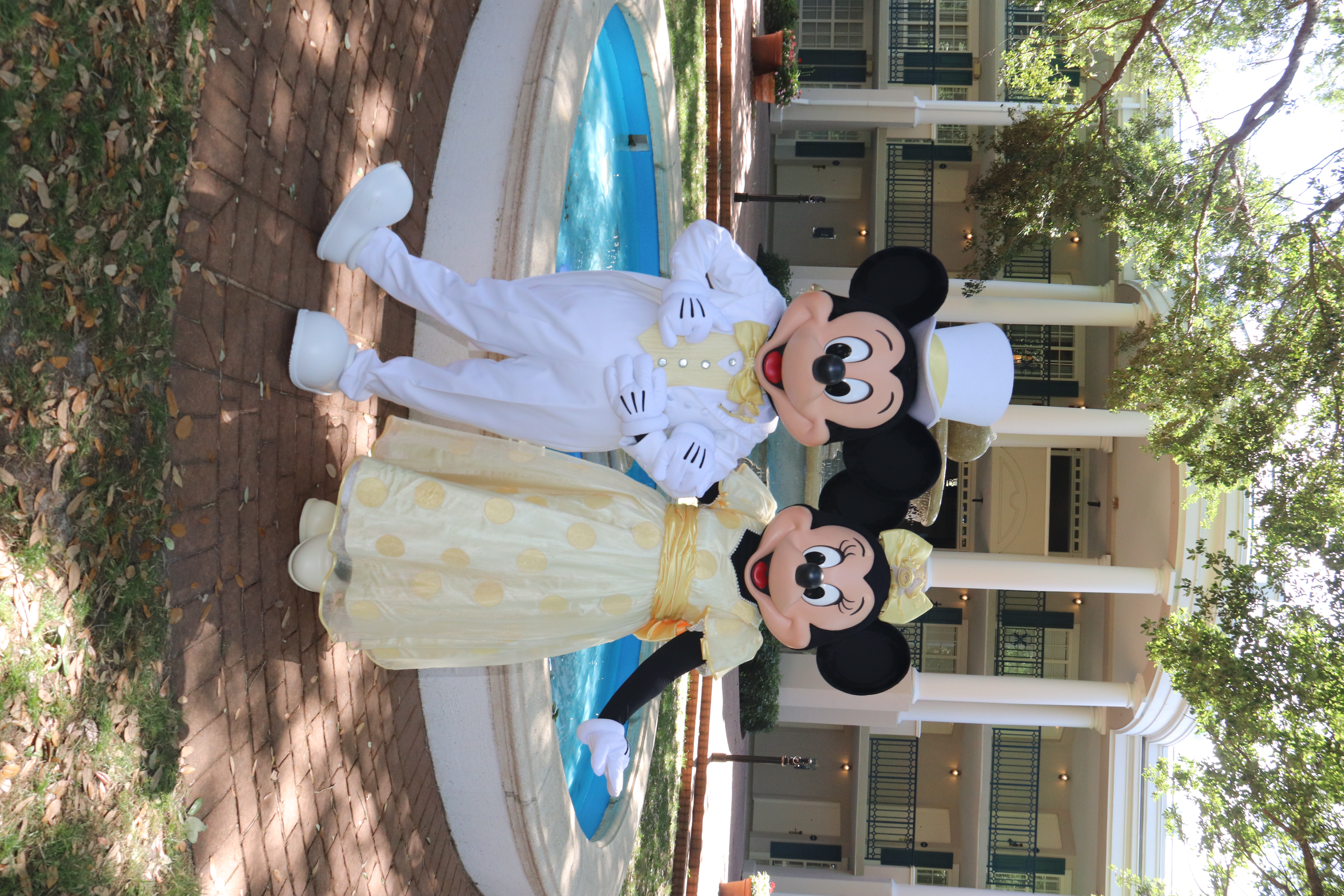 White Suit Mickey