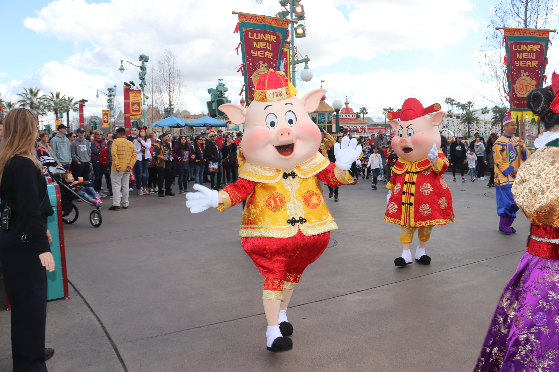 Practical and Fiddler Pig