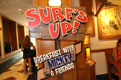 Surf's Up! Breakfast