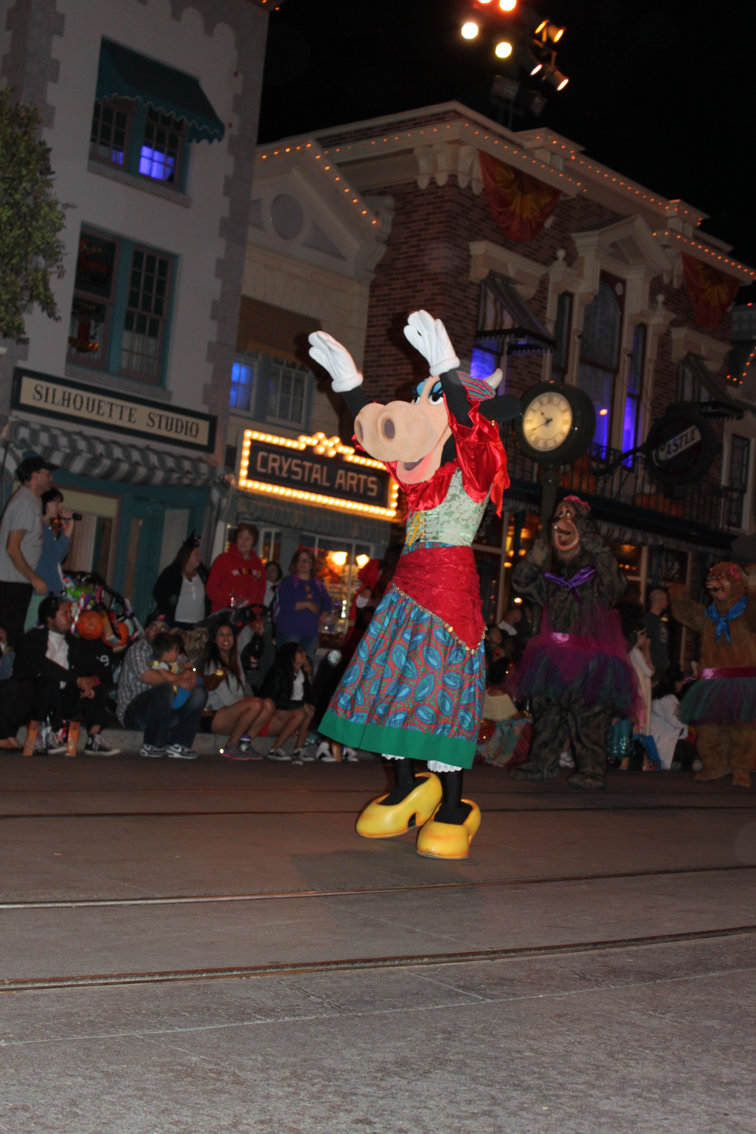 Clarabelle Cow and Shaker