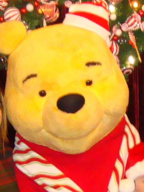 Old Christmas Party Pooh