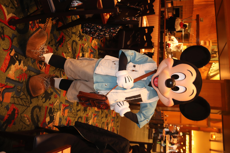 No hat Mickey