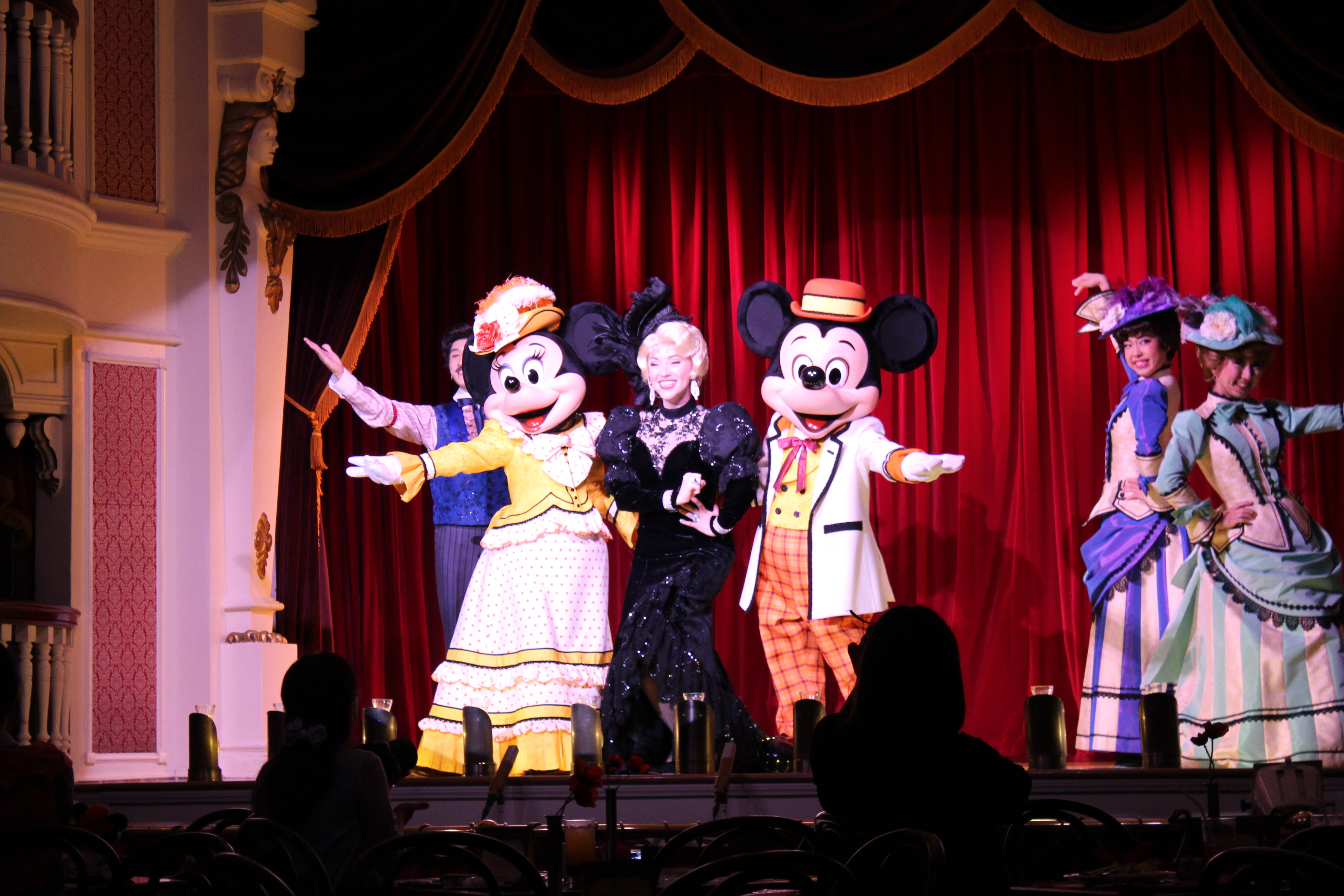 Opening Mickey and Minnie