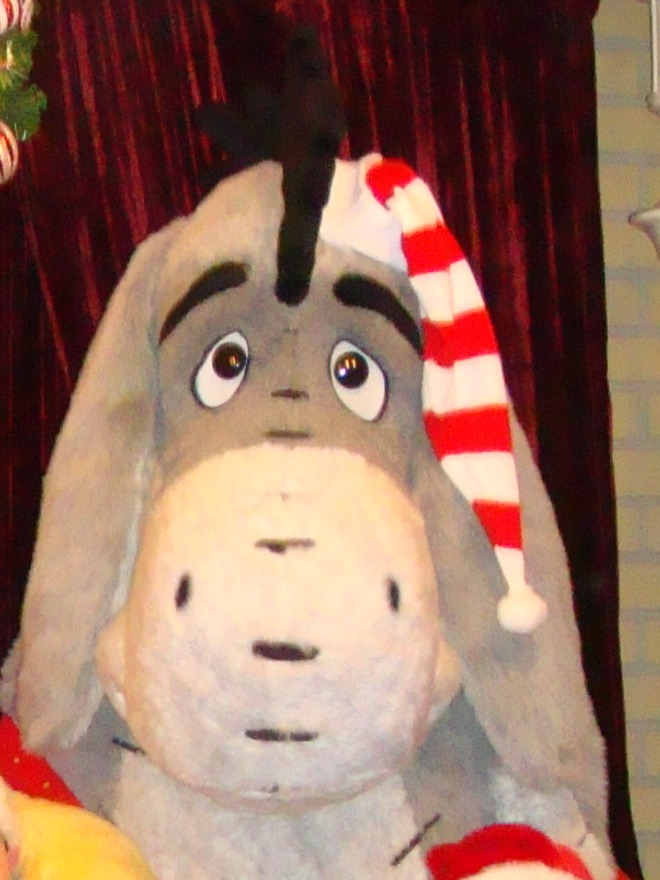 Old Christmas Party Eeyore