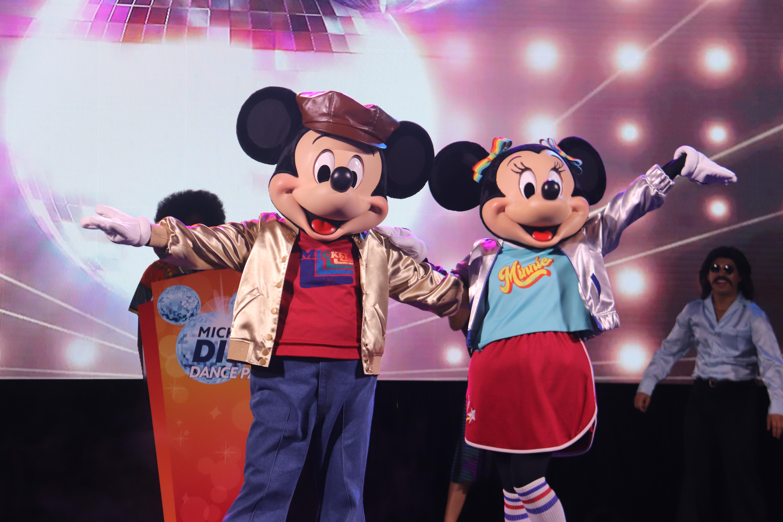 Dance Mickey and Minnie