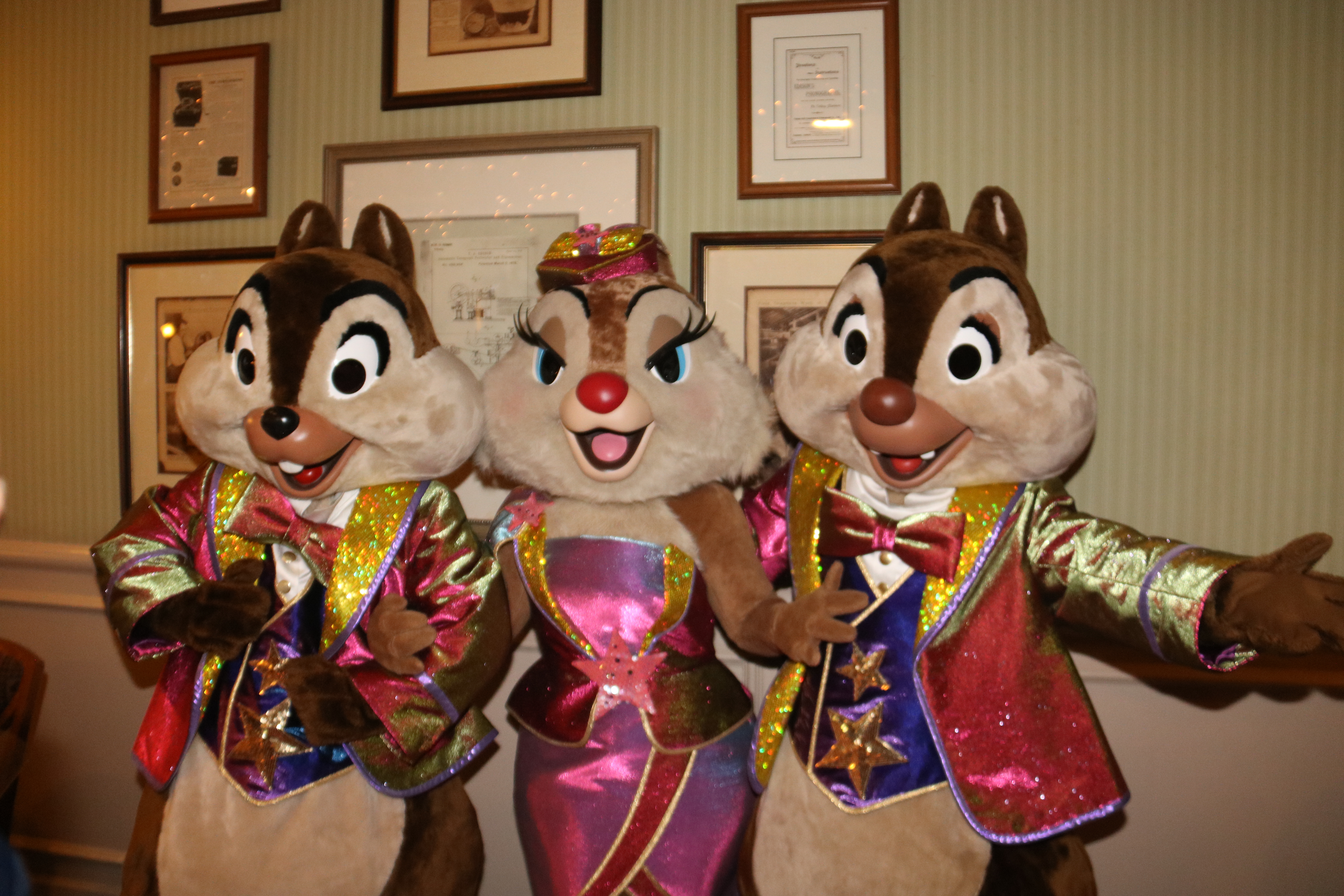 Chip, Dale, and Clarice