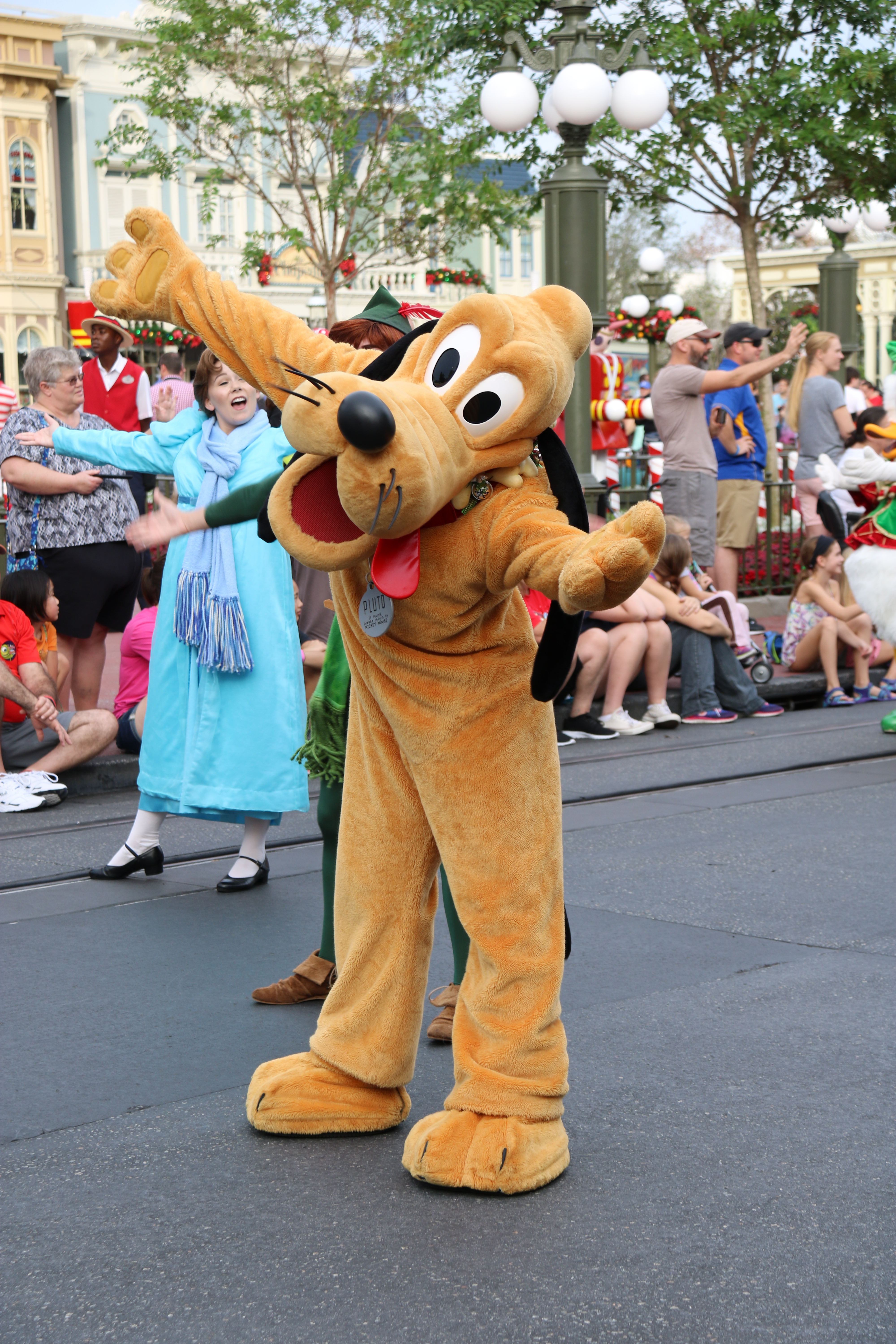 Old Parade Pluto