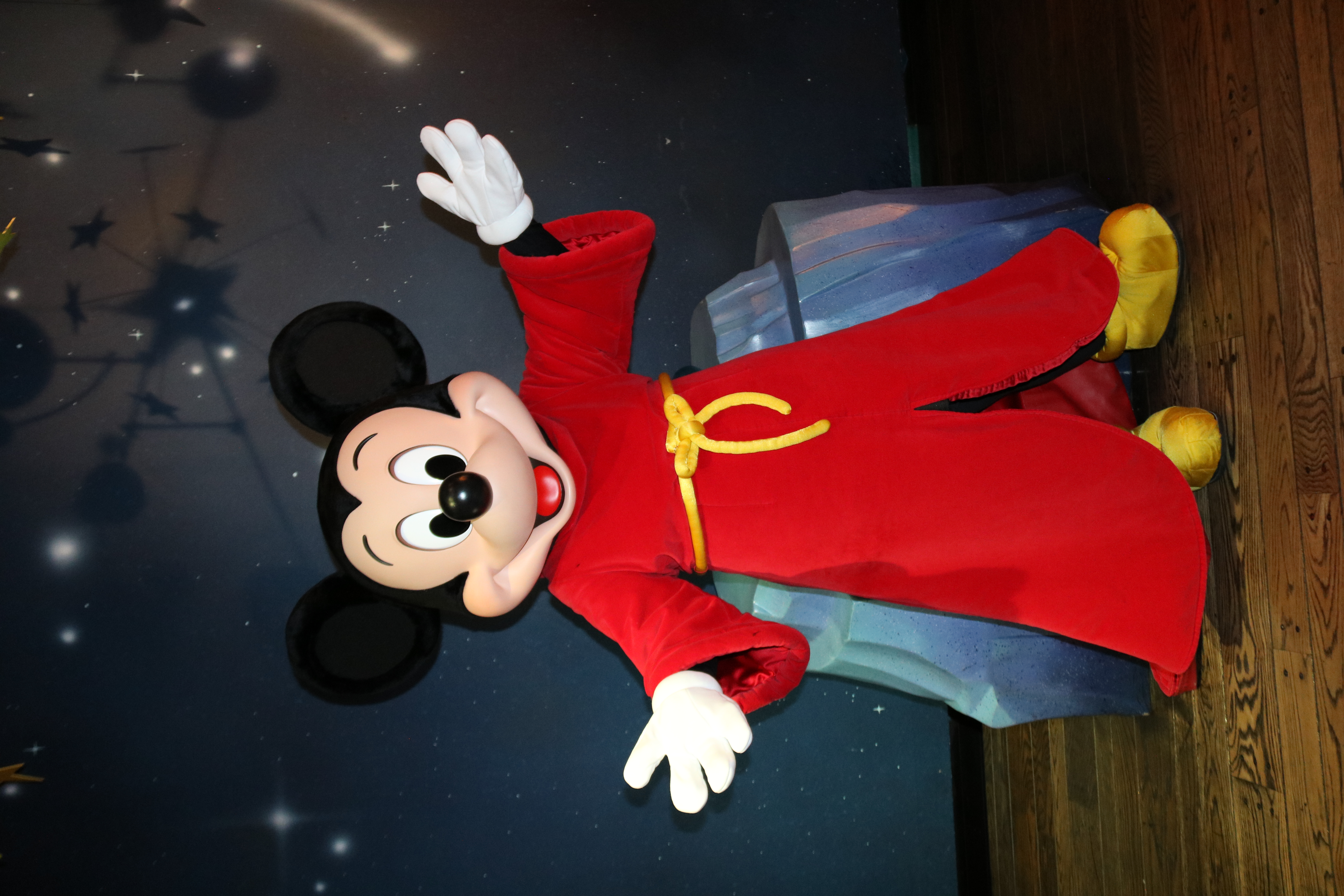 No Hat Sorcerer Mickey