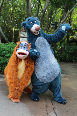 Baloo and King Louie