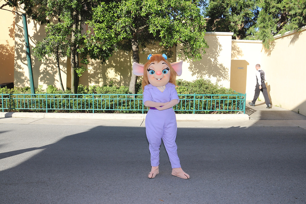 Gadget Hackwrench at Disneyland Paris