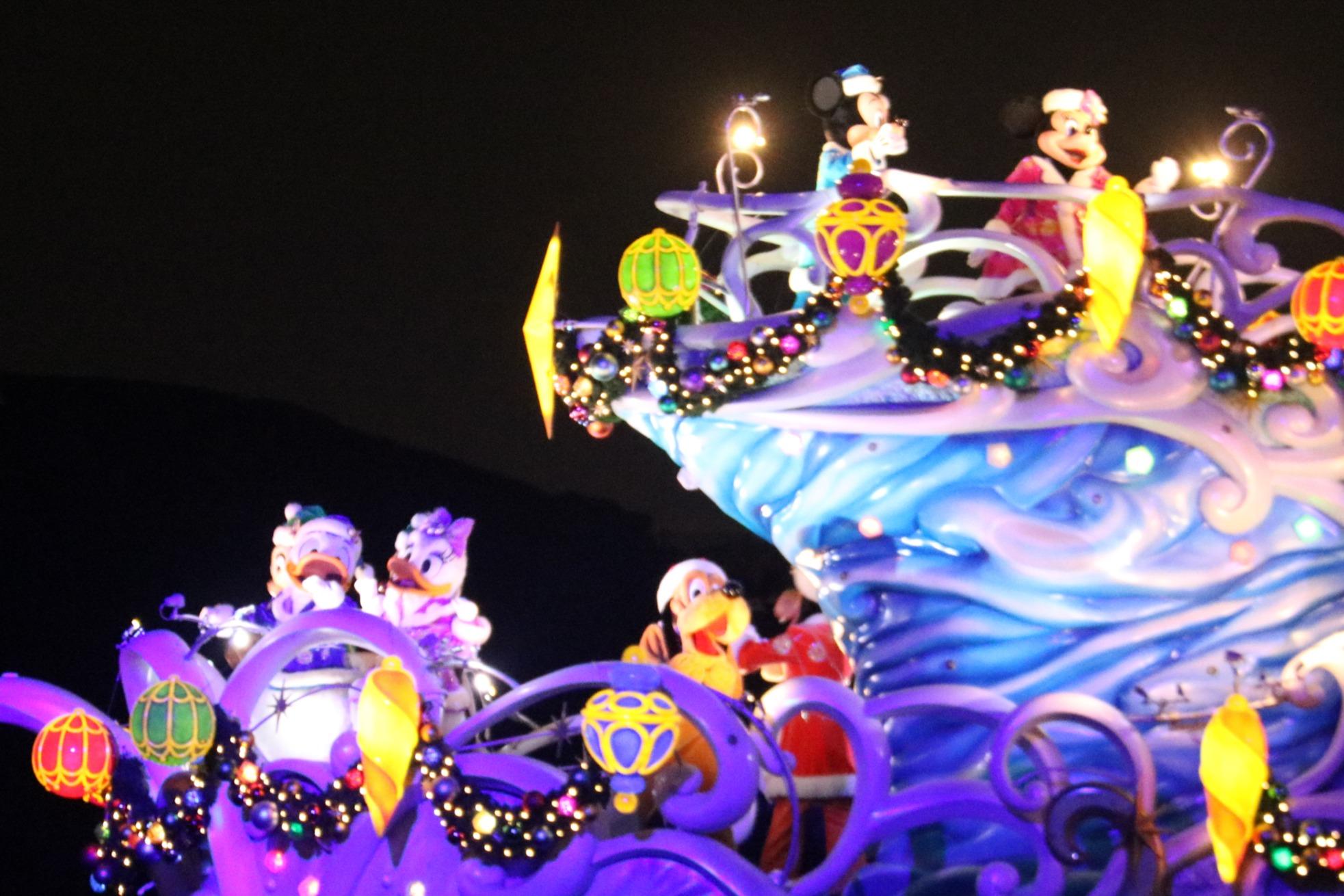 Mickey, Minnie, Pluto, and Daisy
