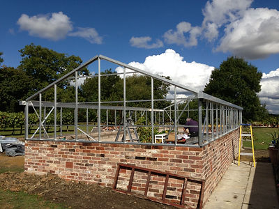 greenhouse installation