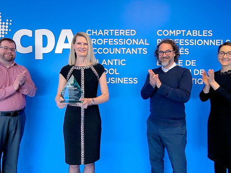 Anne-Marie Gammon recognized with Top 50 CEO award for leadership at CPA Atlantic School