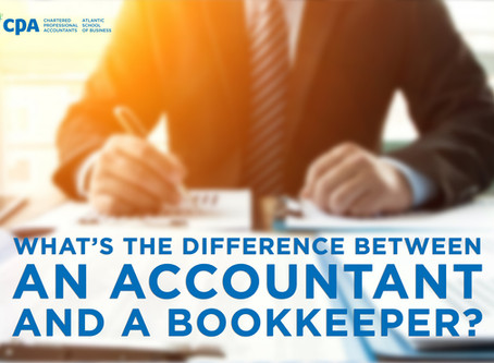 What's the difference between an accountant and a bookkeeper?