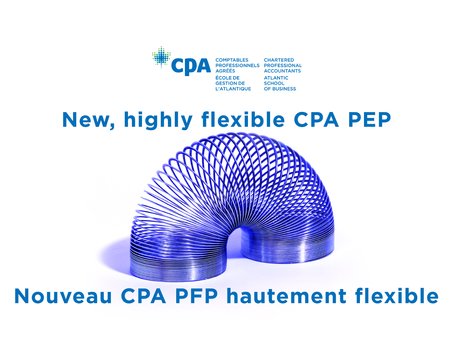 New, highly flexible CPA PEP | Nouveau CPA PFP hautement flexible