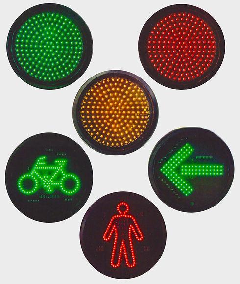 grupo focal led semaforo