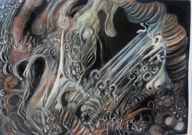 NancyRodrigo_Planetaryviscera_mixedmedia