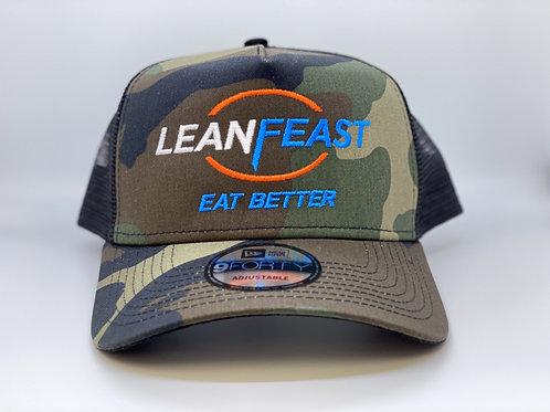LeanFeast Camo Baseball Cap