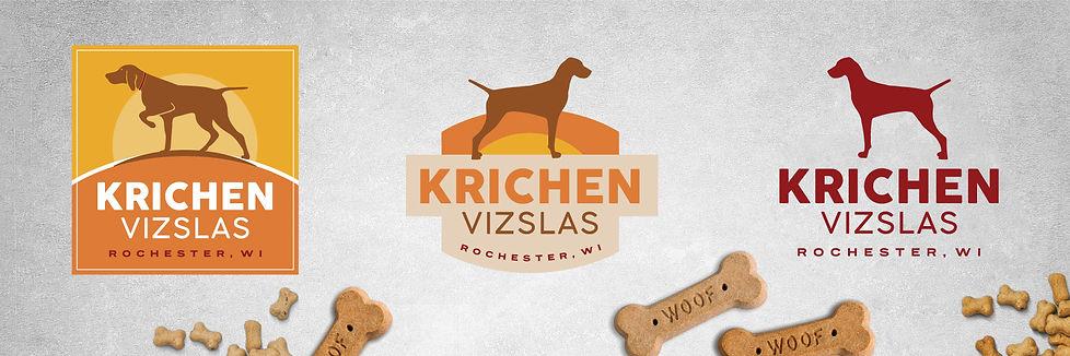 Krichen Vizslas Logo Design.jpg