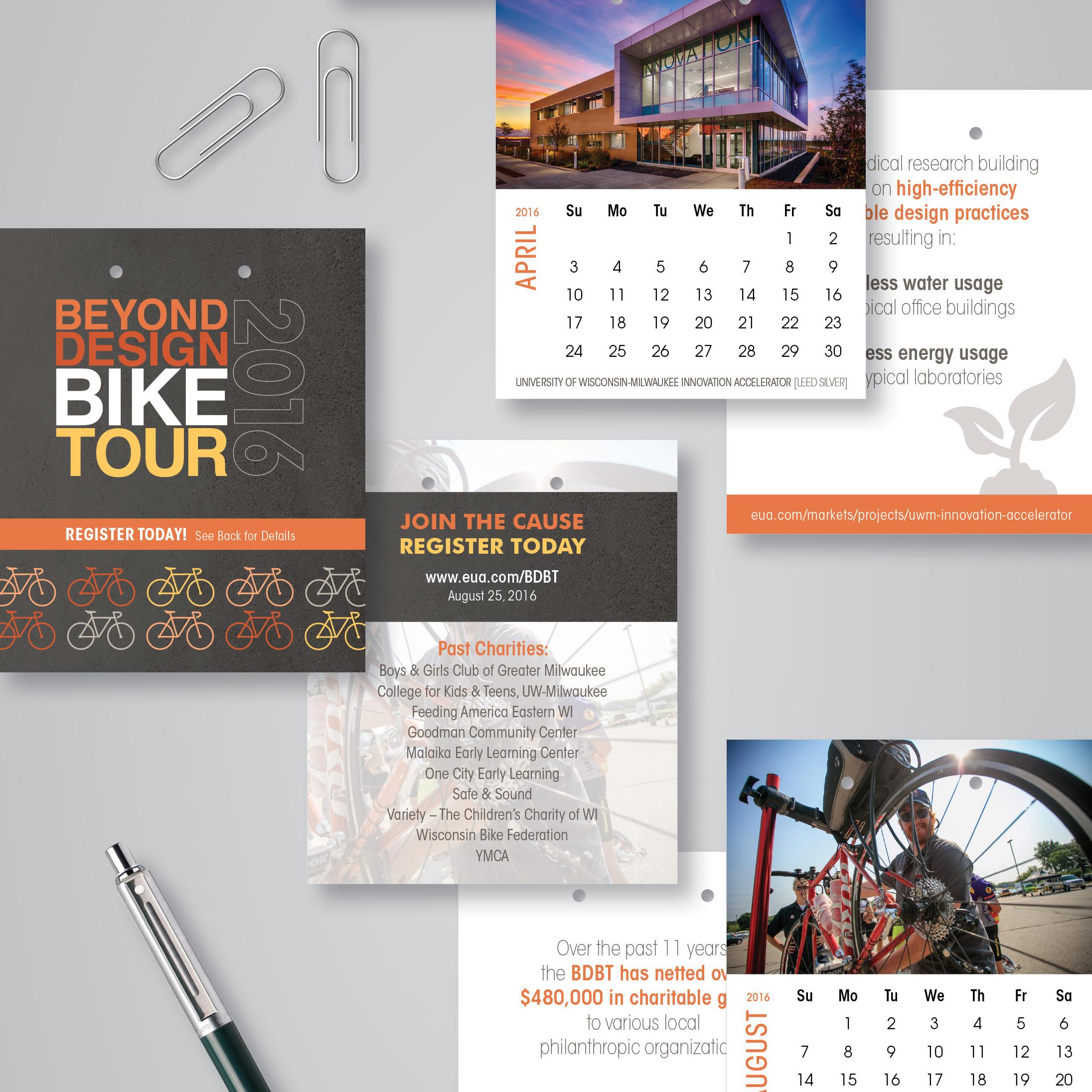 EUA 2016 Desk Calendar