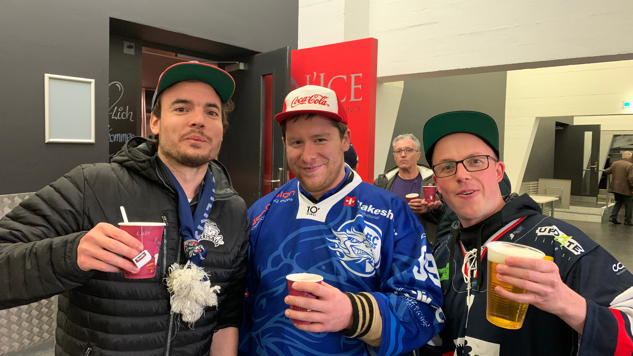Austausch mit den Luzerner Fans