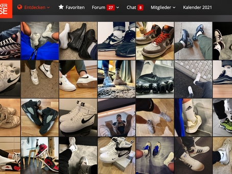 Sneakerbase: Inspiration und Marketplace