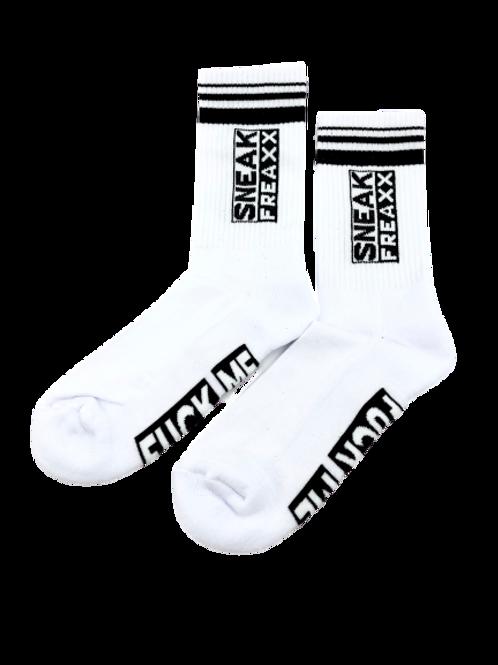 SNEAKFREAXX f*ck me socks