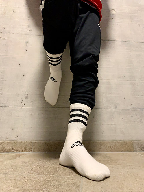 Adidas Performance sox with stripes