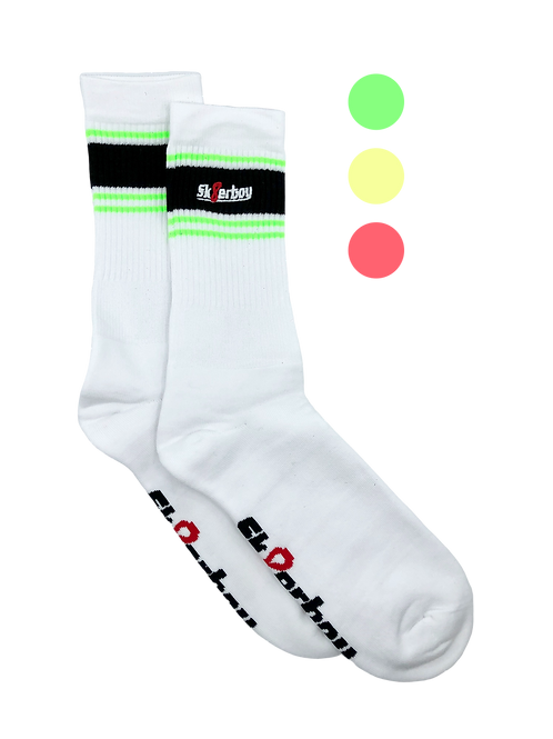 Sk8erboy Deluxe Chaussettes fluo