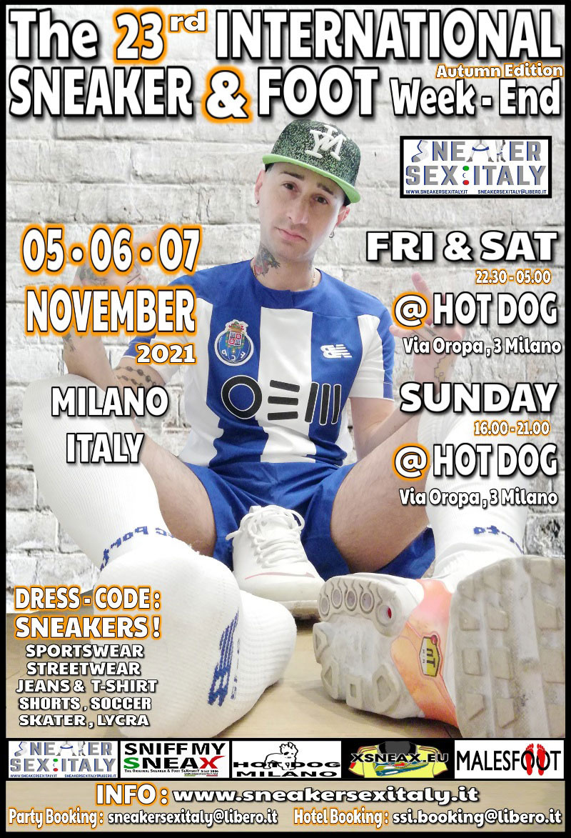 sneaker & foot weekend mailand milano sneakersexitaly sneakerparty