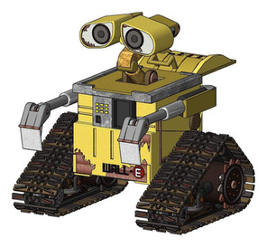 Wall-E Render in Vectorworks