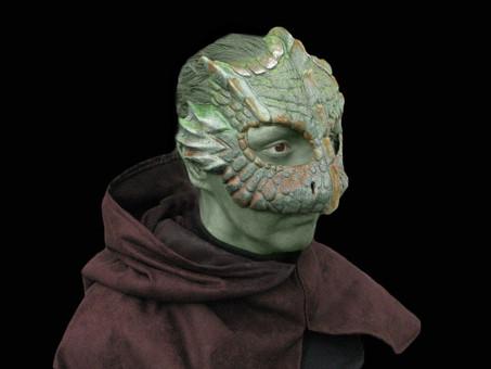 Latex Lizard Mask