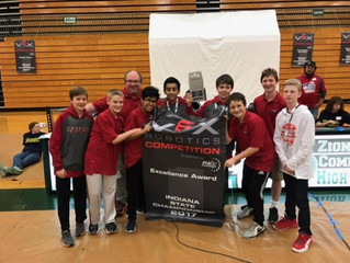Panther Robotics Earns Bid to VEX World Championships