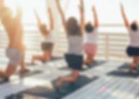 Yoga on Deck