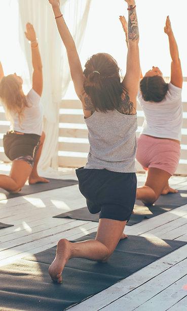 """Stage de Yoga: """"S'ancrer pour mieux s'élever"""" - St Jean de Luz, 12-15 Août 2020"""