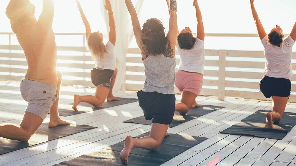 """RETRAITE de Yoga """"Ouvrir le Coeur"""" St Jean de Luz,  du 18 au 24 août 2018"""