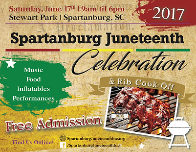 Spartanburg Juneteenth 2017