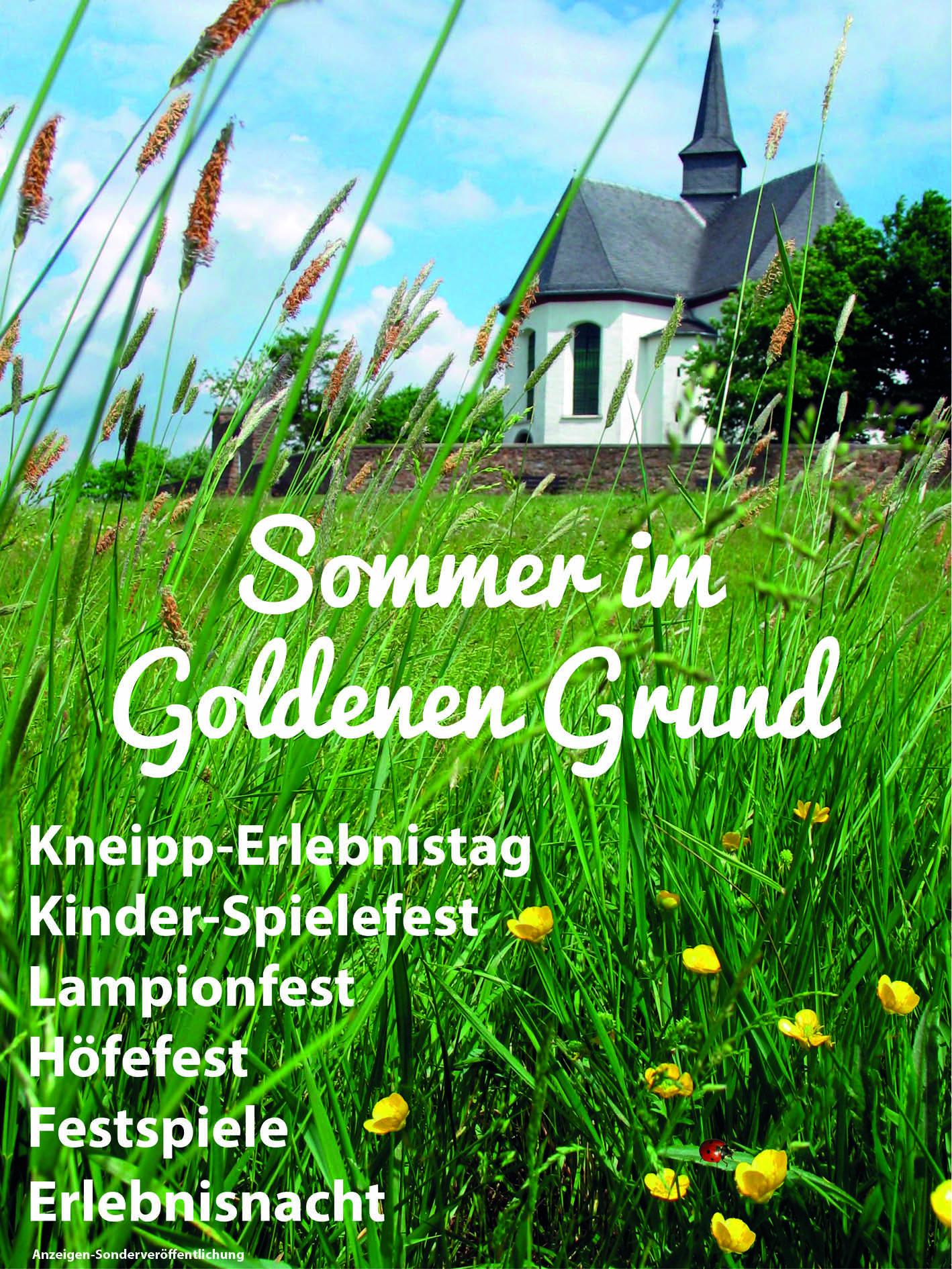 Sommer im Goldenen Grund 2013