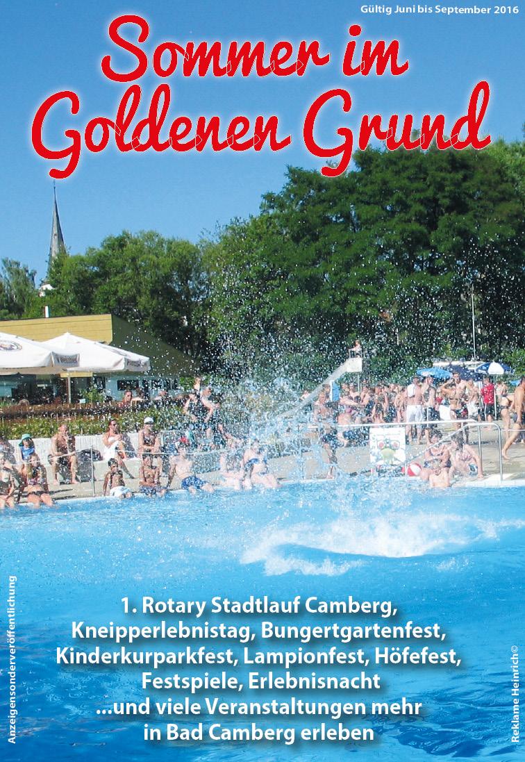 Sommer im Goldenen Grund 2016