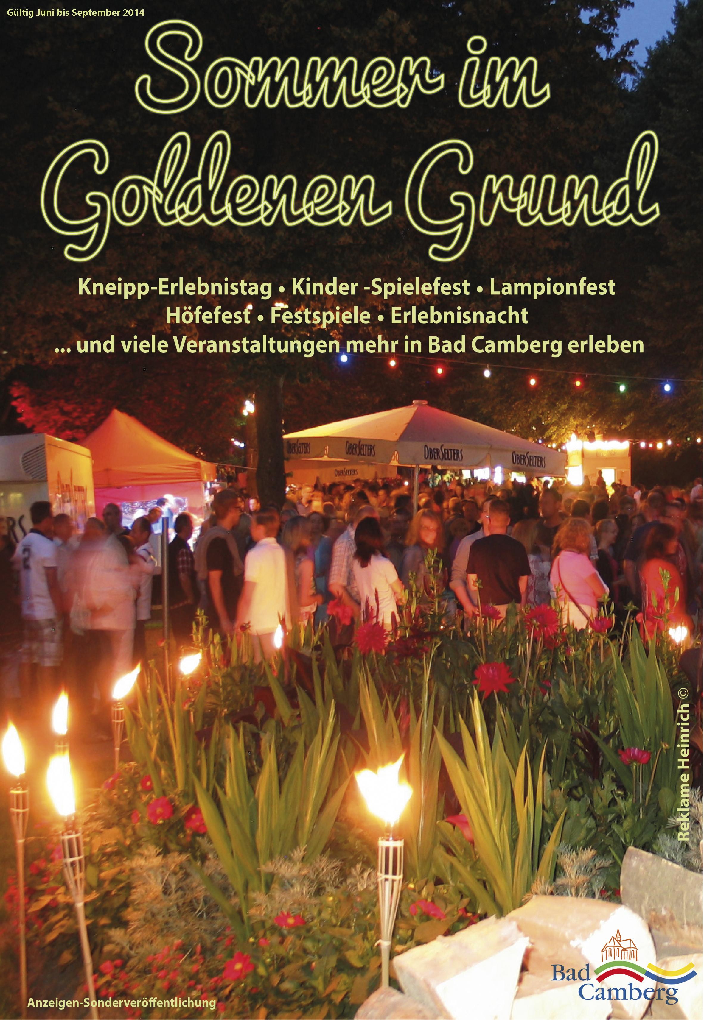 Sommer im Goldenen Grund 2014
