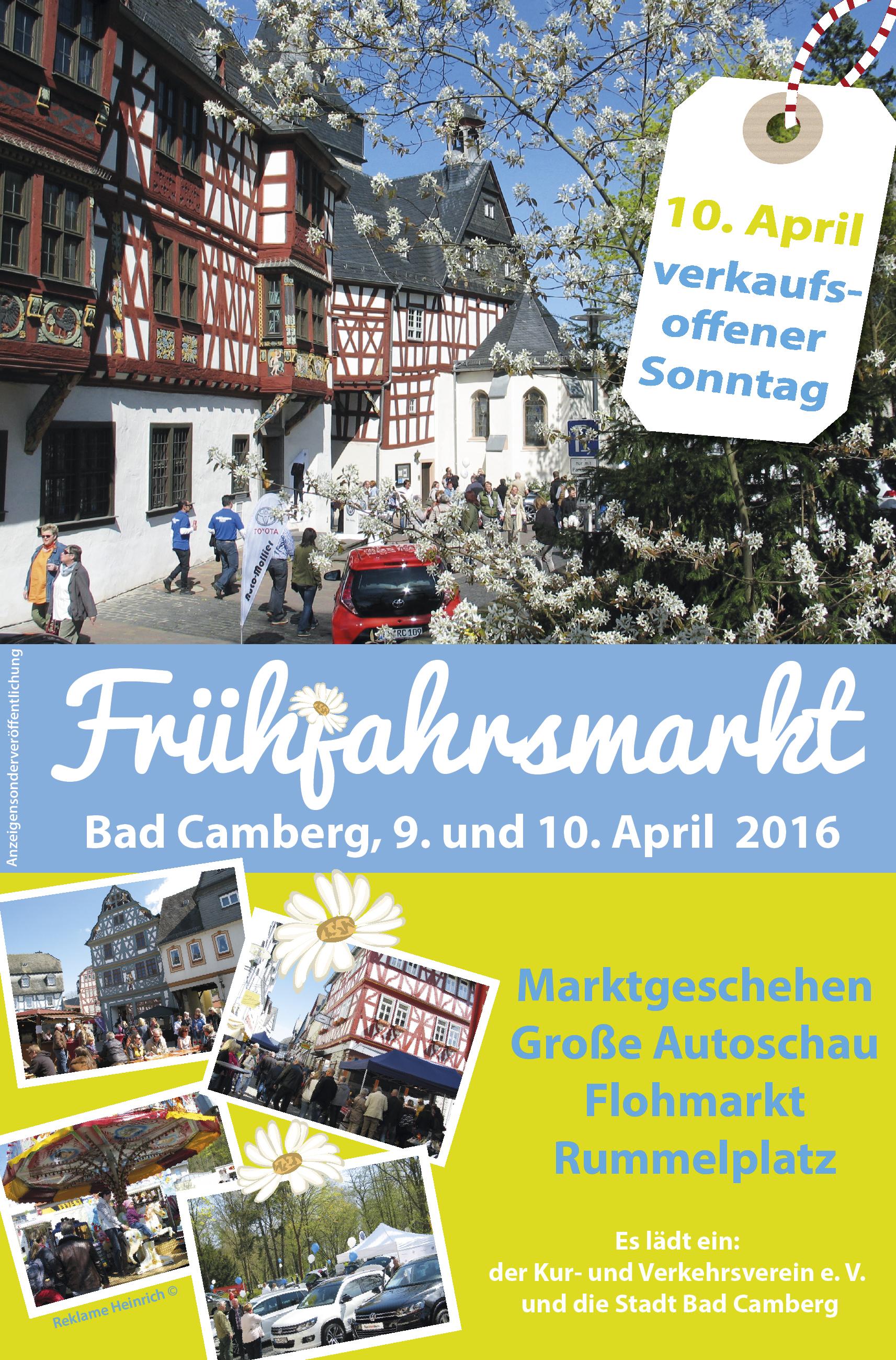 Frühjahrsmarkt 2016