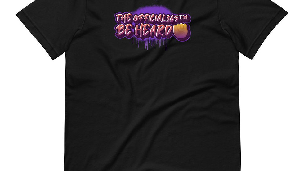 Short-Sleeve Be Heard Graffiti Unisex T-Shirt
