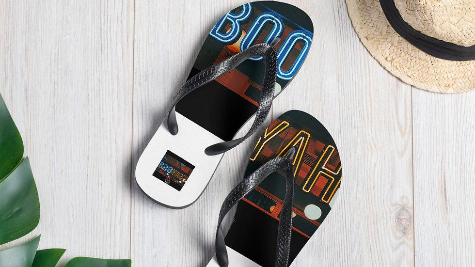 BOO YAH Flip-Flops