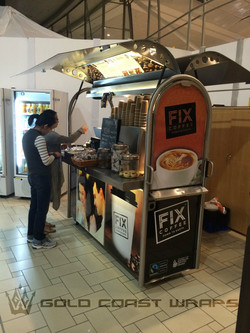 COFFEE CART DESIGN AND WRAP