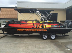 COMMERCIAL BOATING CENTRE WRAPS
