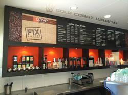 CRAVE CAFE SIGNAGE