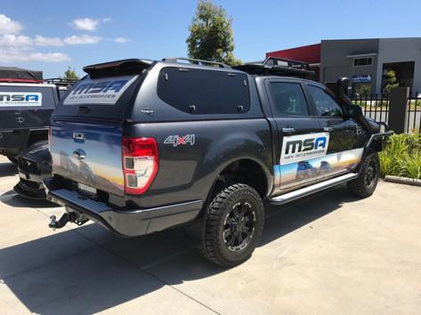 MSA Vehicle Fleet