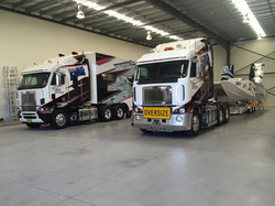 TRANSPORTER AND TRUCK FULL WRAP