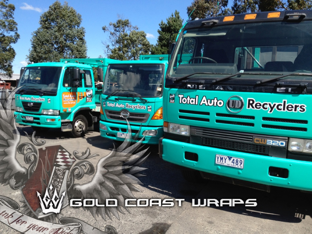 TRUCK FLEET FULL WRAP
